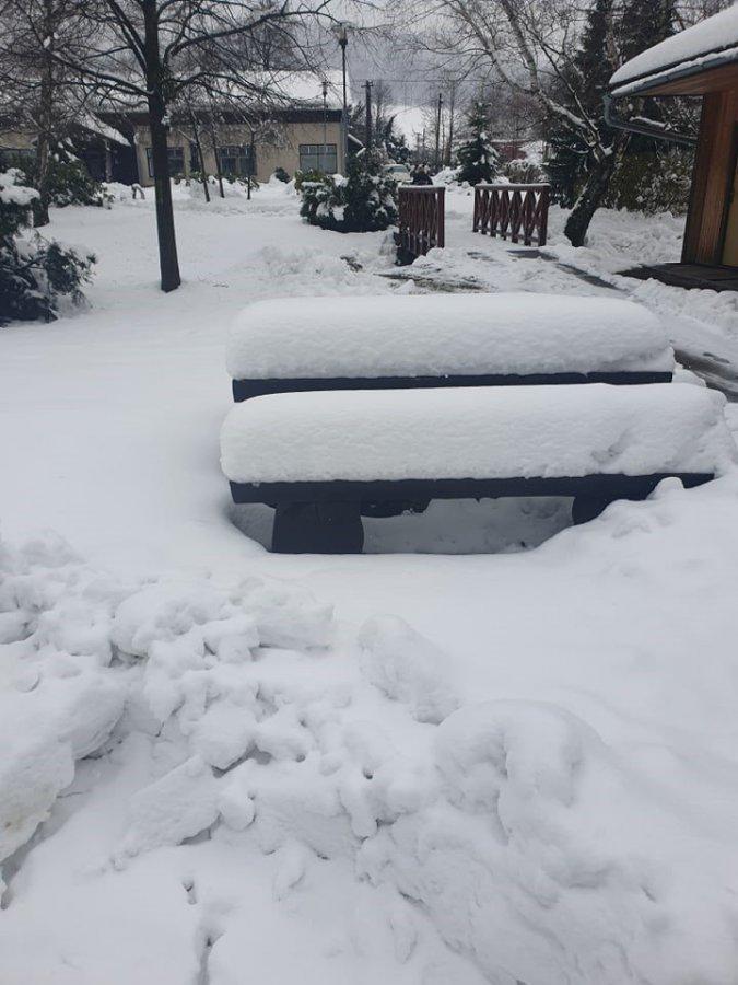 Beskydy sníh