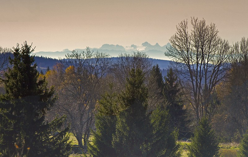Alpy ze Šumavy - Kamenná Hlava