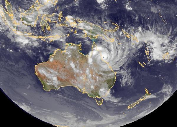 Bouře desetiletí: USA sužuje blizzard, Austrálii cyklón