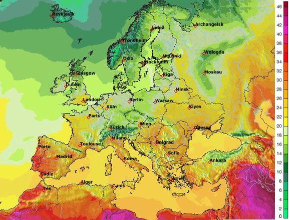 Do Česka se vrátí tropické teploty