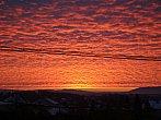 Východ slunce nad Javorovým