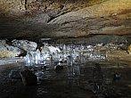 Ledové stalagmity