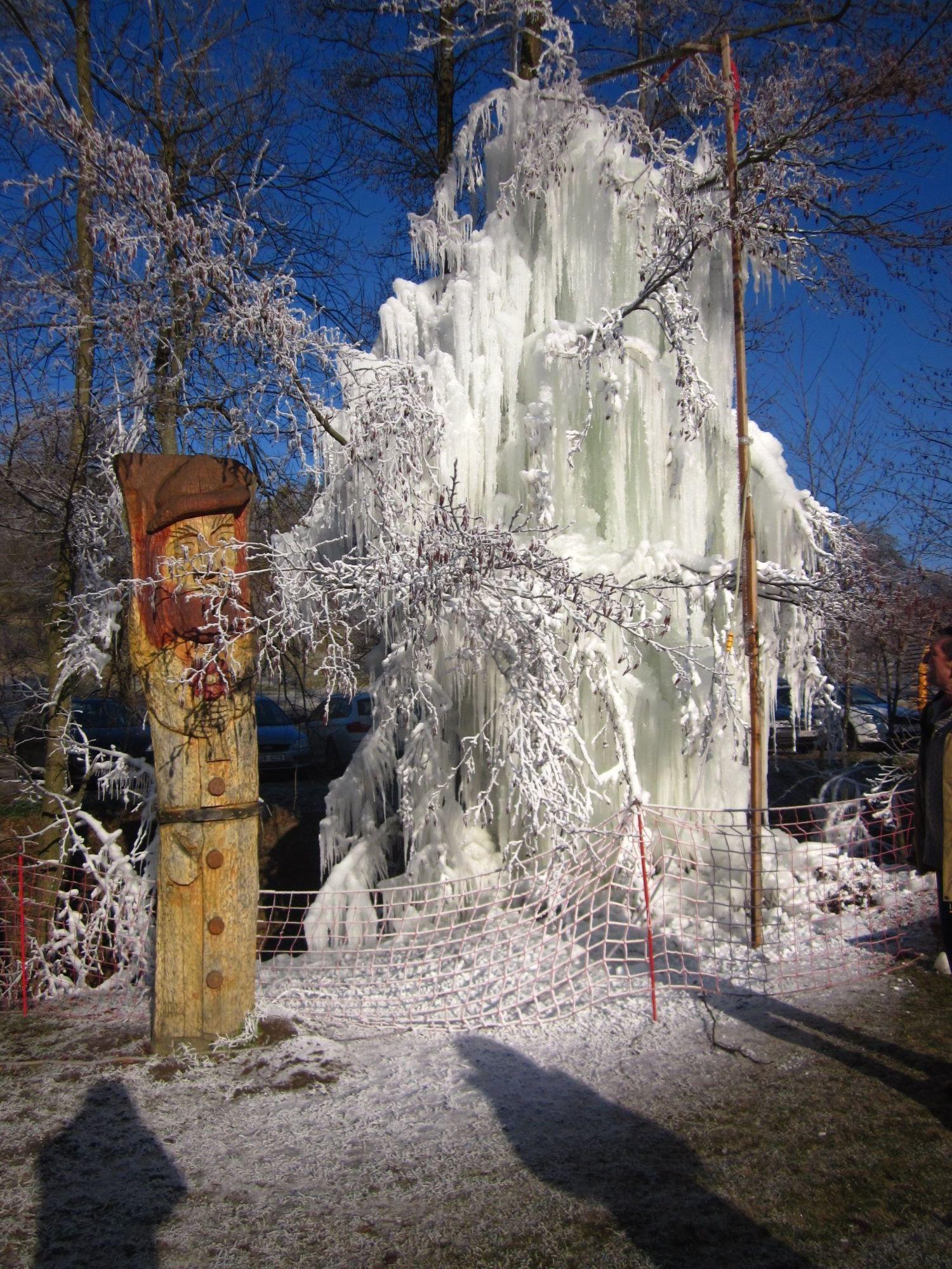 Ledopád v Osvětimanech