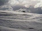 Zvířený sníh