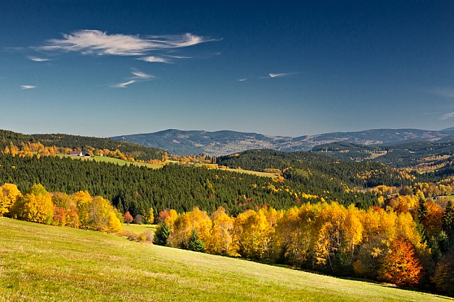 Pestré barvy podzimu