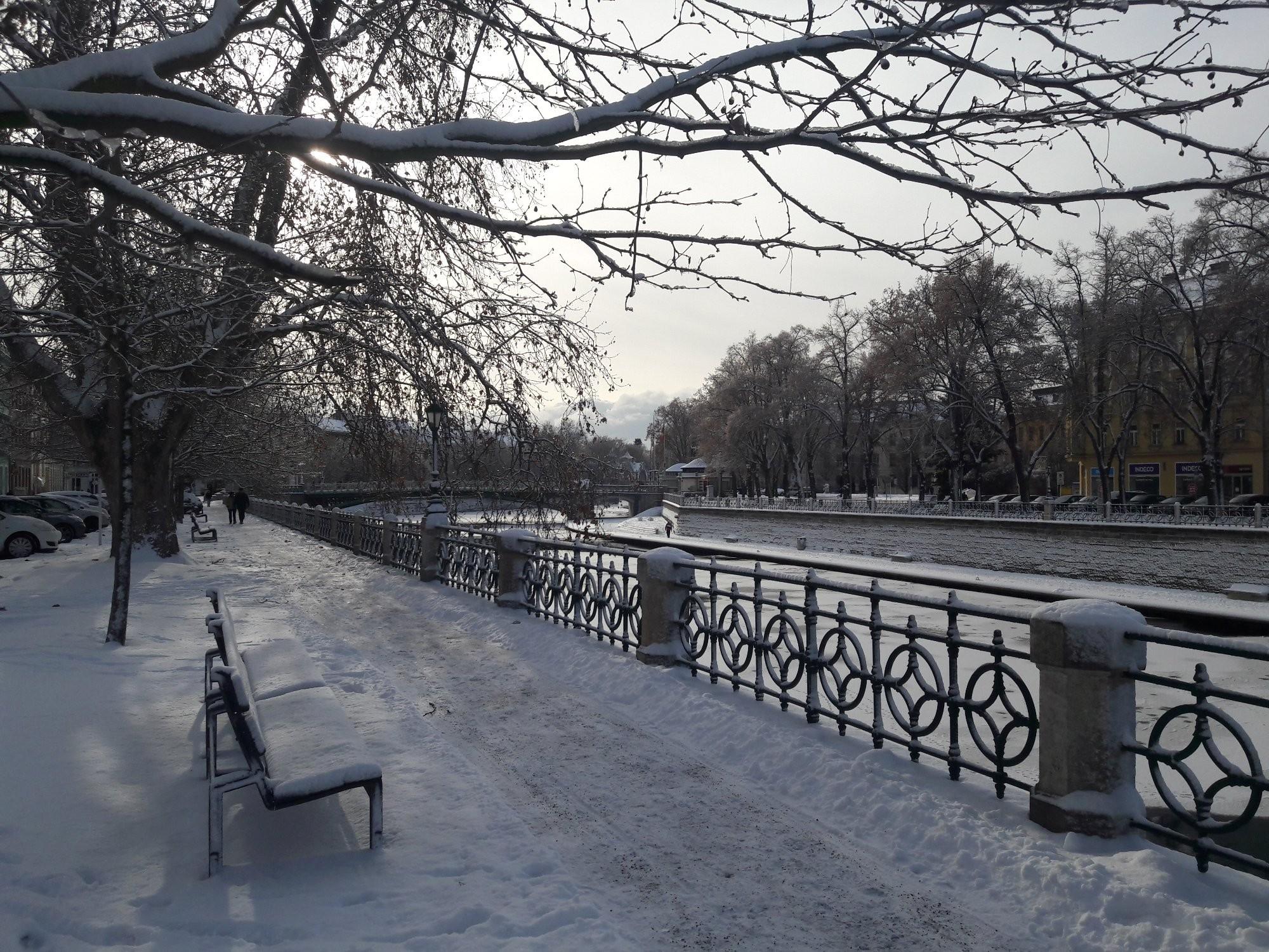 První letošní sníh