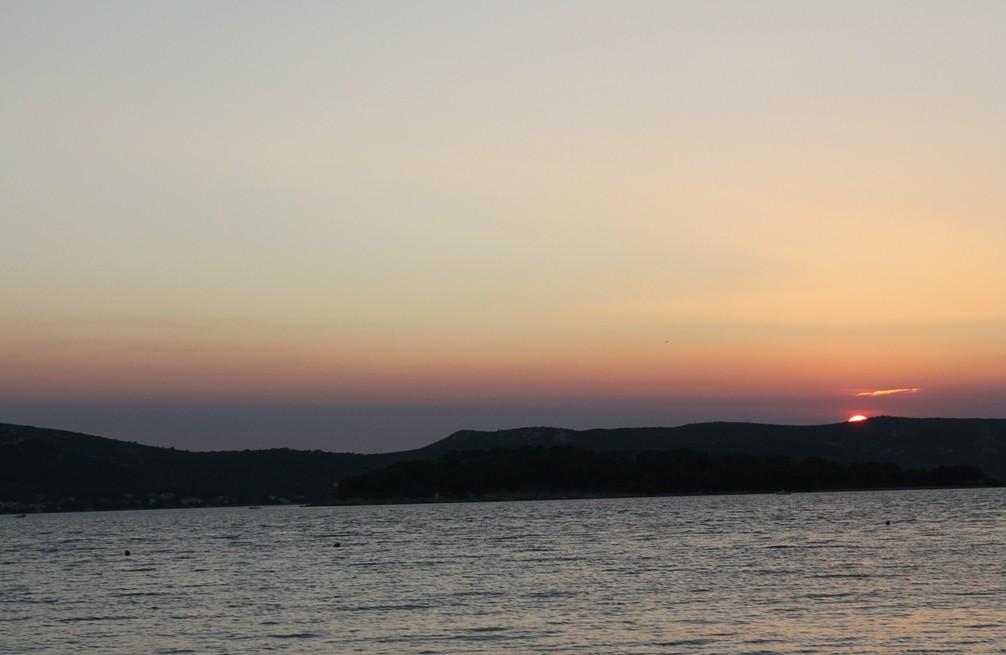 Západ slunce nad Biogradem