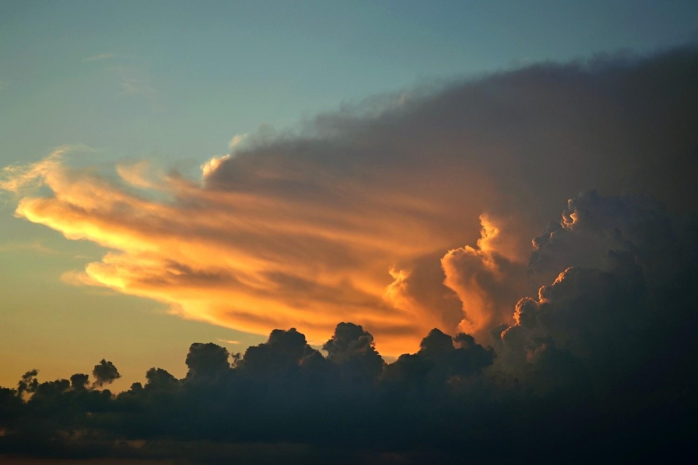 bouřka nad Polskem