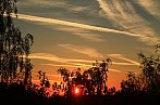 Západ Slunce na Prahou