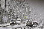 Husté dopolední sněžení