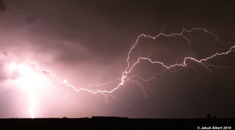 Večerní bouřka