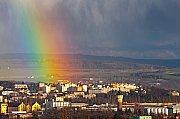 Duha nad Plzní