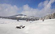 Březnový sníh na Šumavě