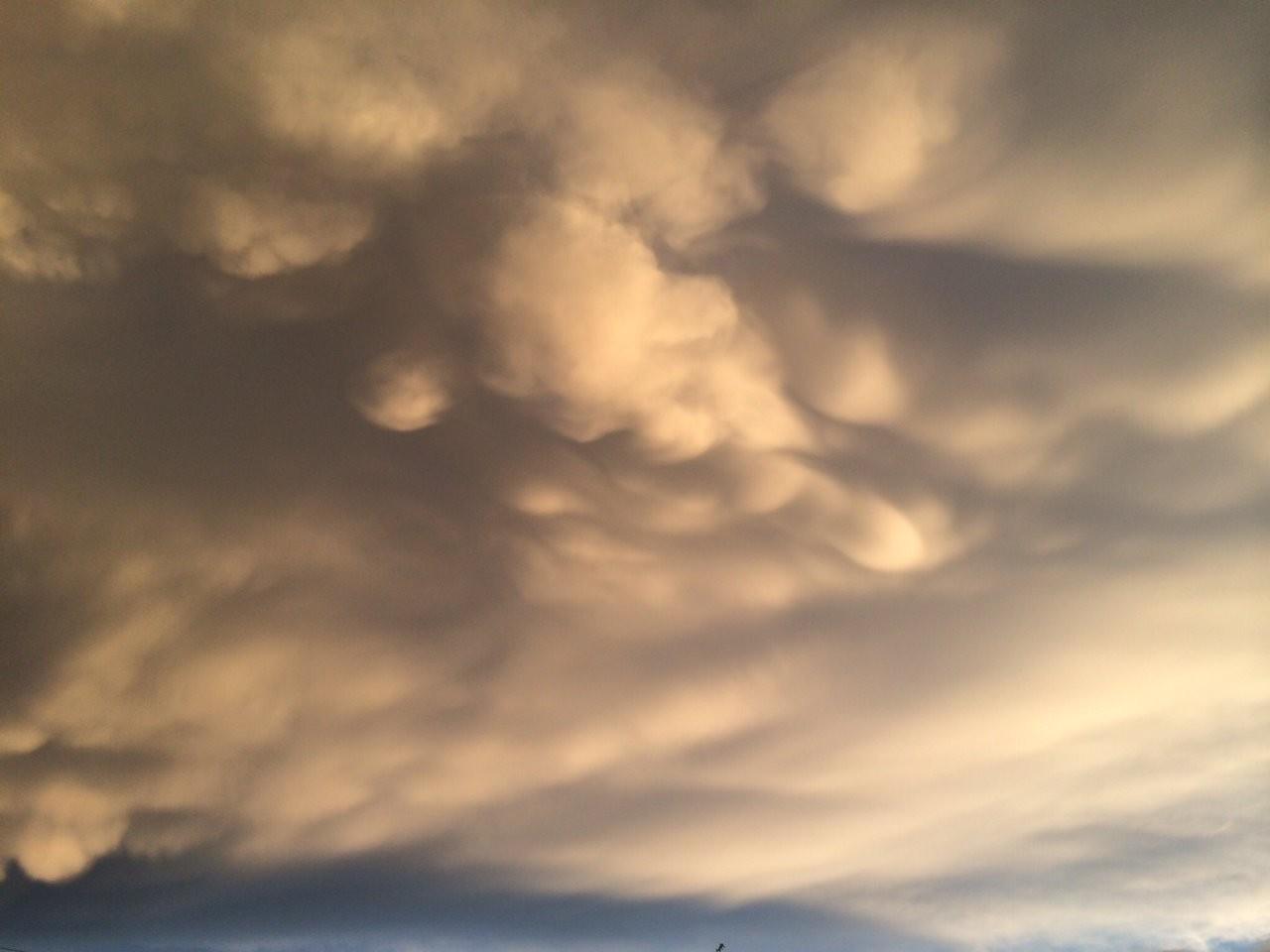 Apokaliptické mraky nad Brdy