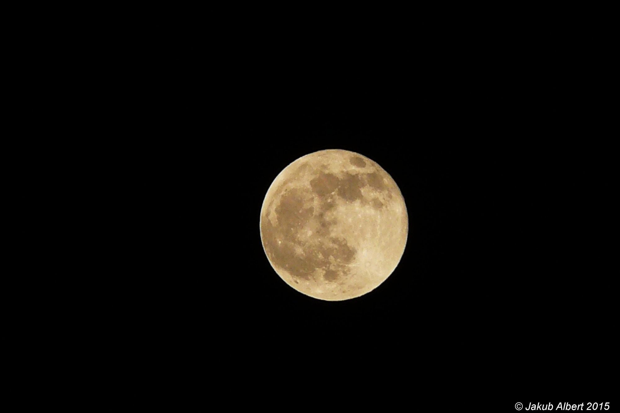 Měsíc v úplňku