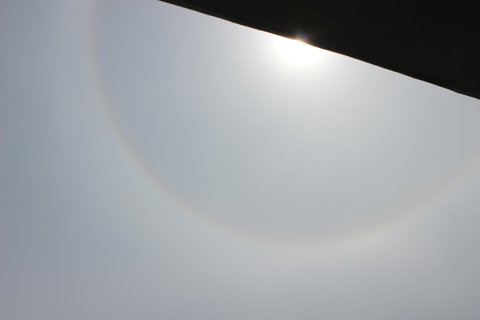 Sluneční úkaz - malé halo