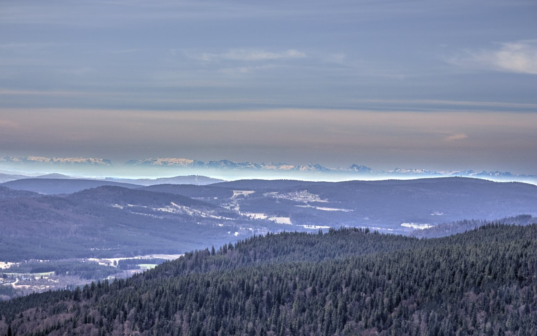 Alpy z Boubína