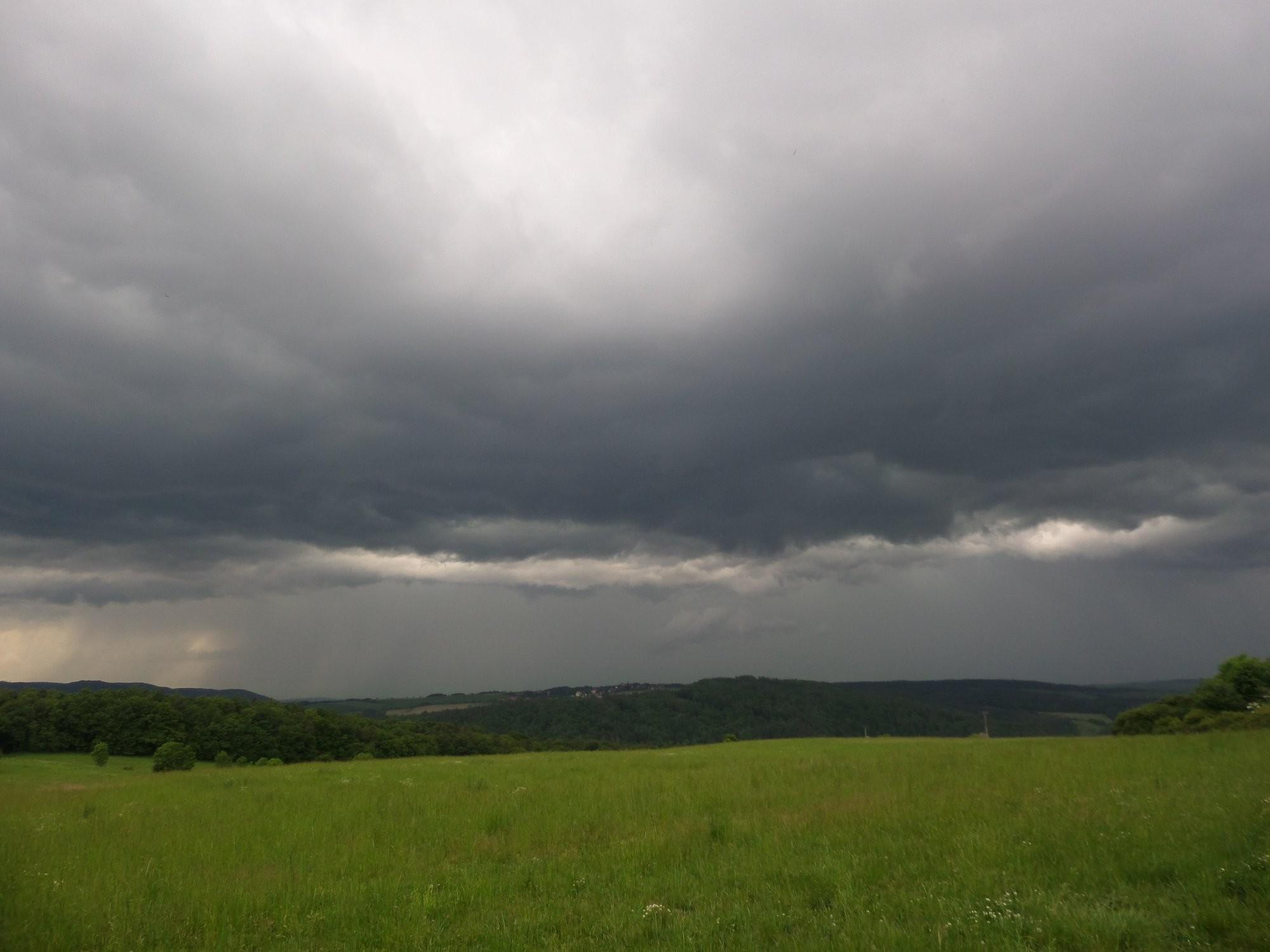 Bouřka na Křivoklátsku