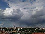 Přeháňka nad Prahou 12.5.2014