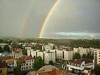 Duha nad Novým Městem na Moravě
