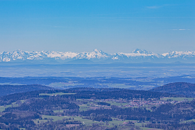Alpy ze Šumavy - Watzmann