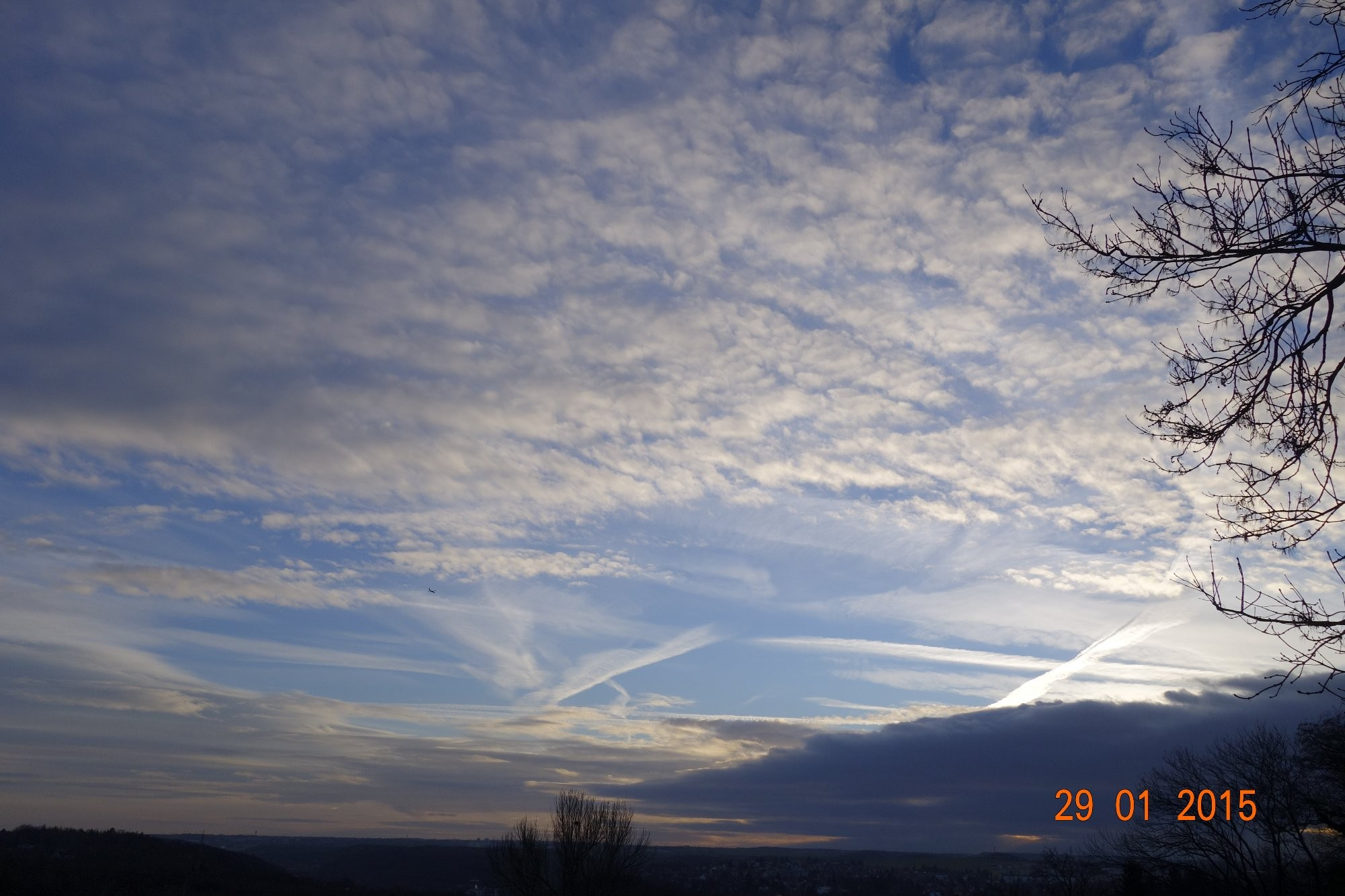 Obloha nad Prahou