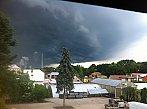 Přicházející bouřka