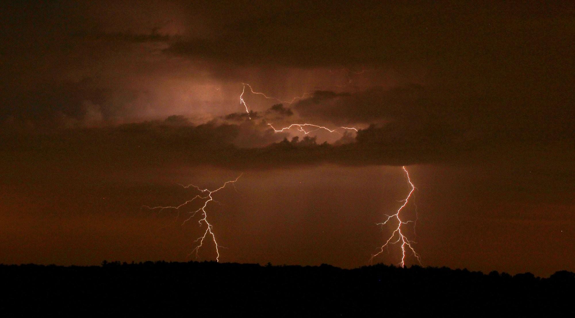 Opavsko - blesk u polských hranic