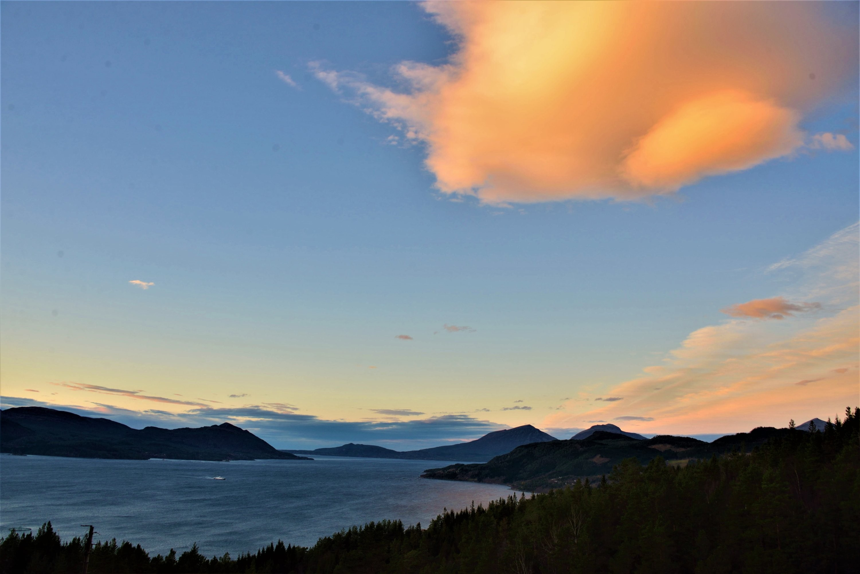 Oblak Lenticularis v Norsku
