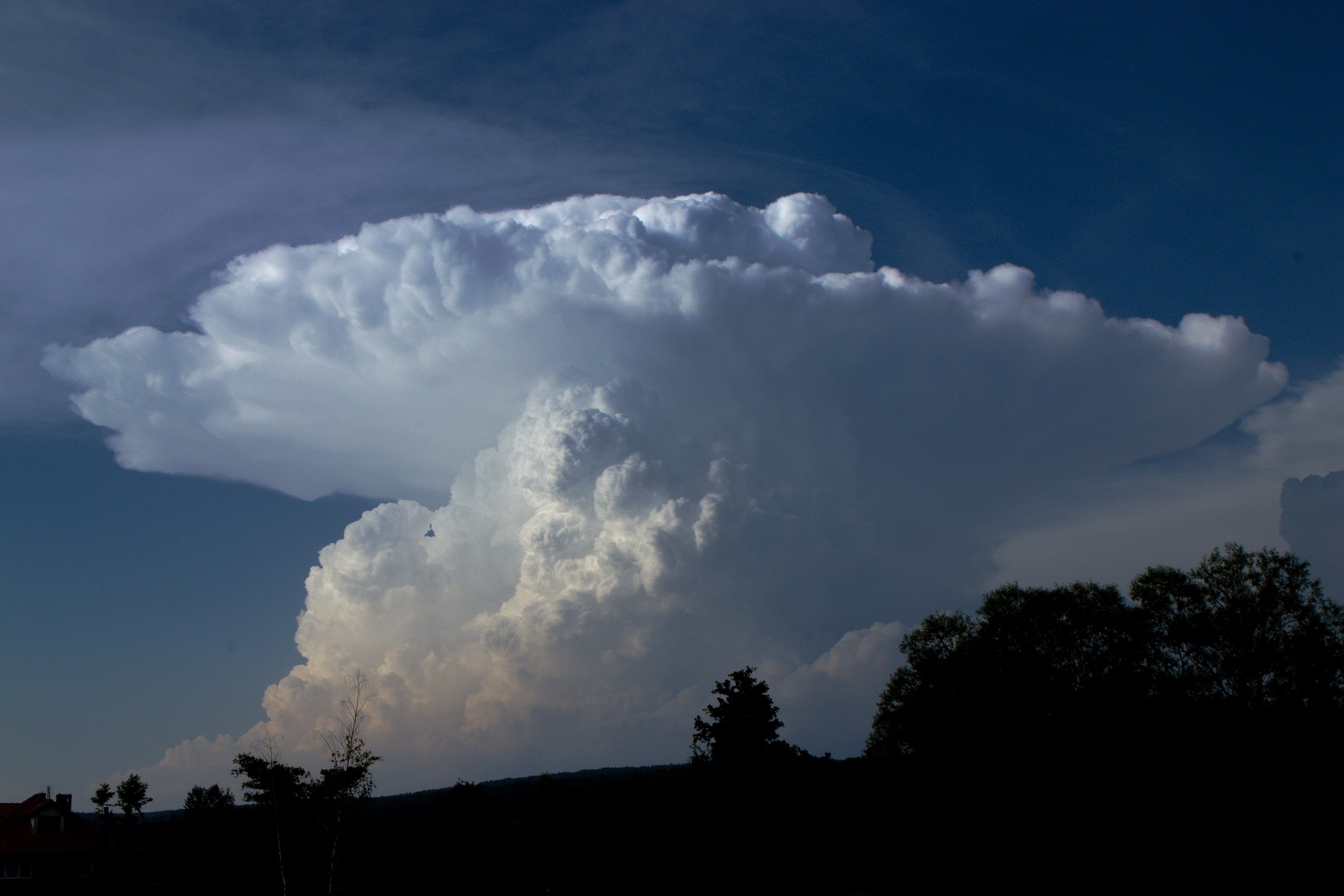 Cumulonimbus nad Polskem