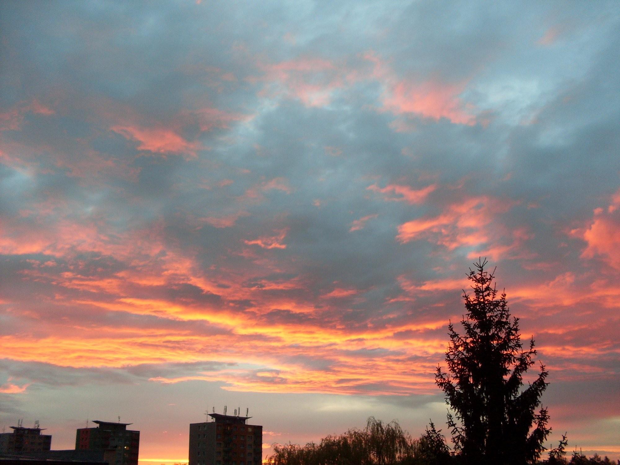 Západ slunce 8.4.2014