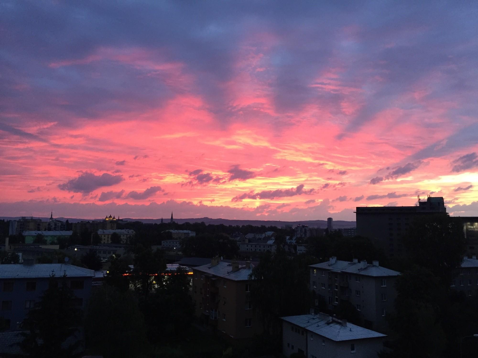 Ráno nad Olomoucí
