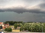 Bouře se žene na Těšín