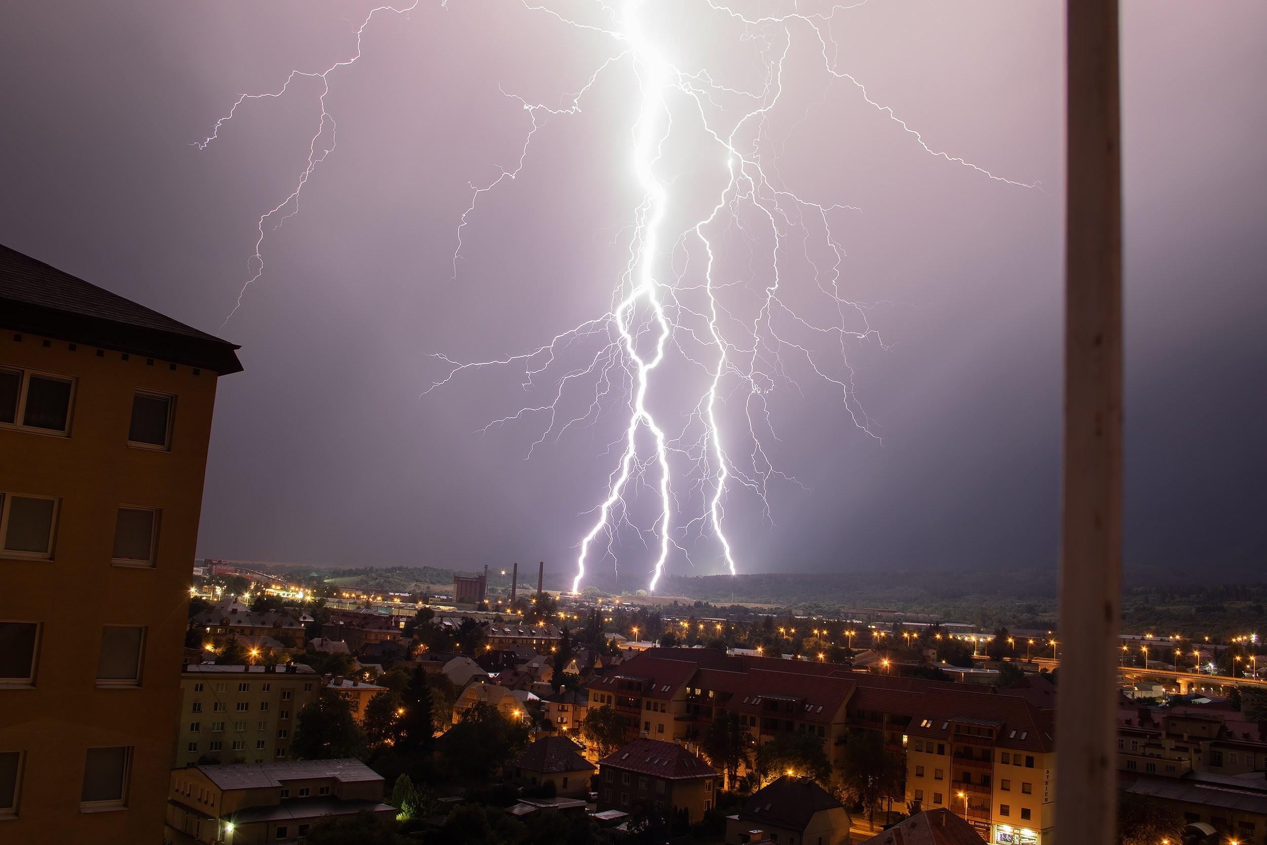 Búrka v Martine