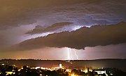 Příchod bouře na SV Moravu