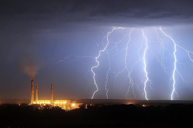 Nejlepší bouřkové fotografie roku 2013
