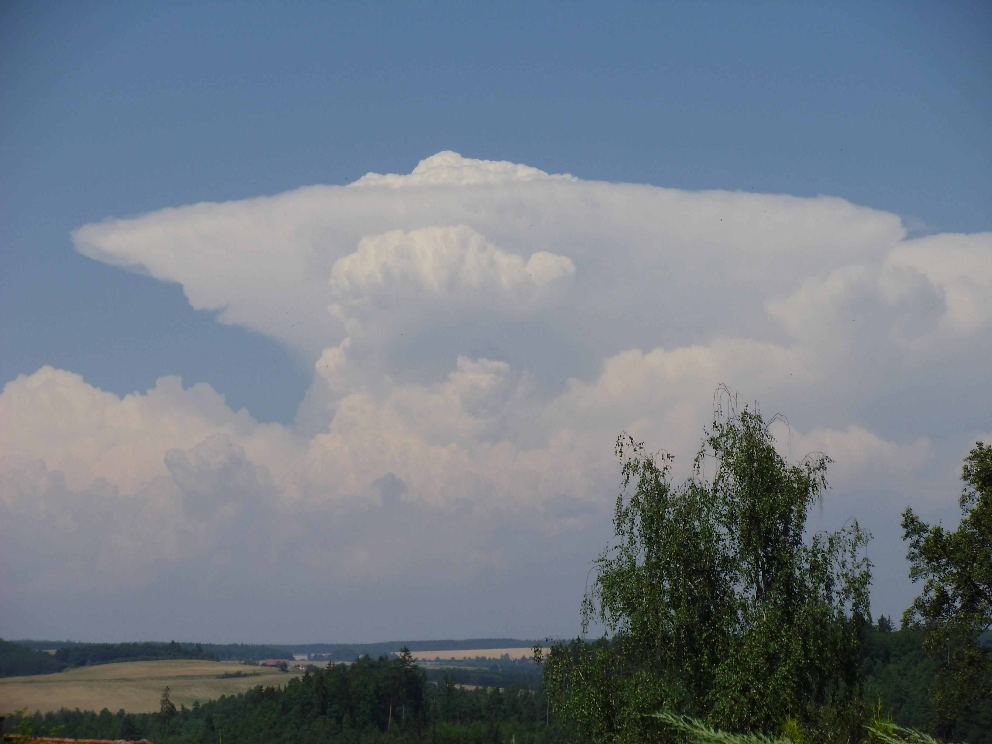 Bouřka na Karlovarsku