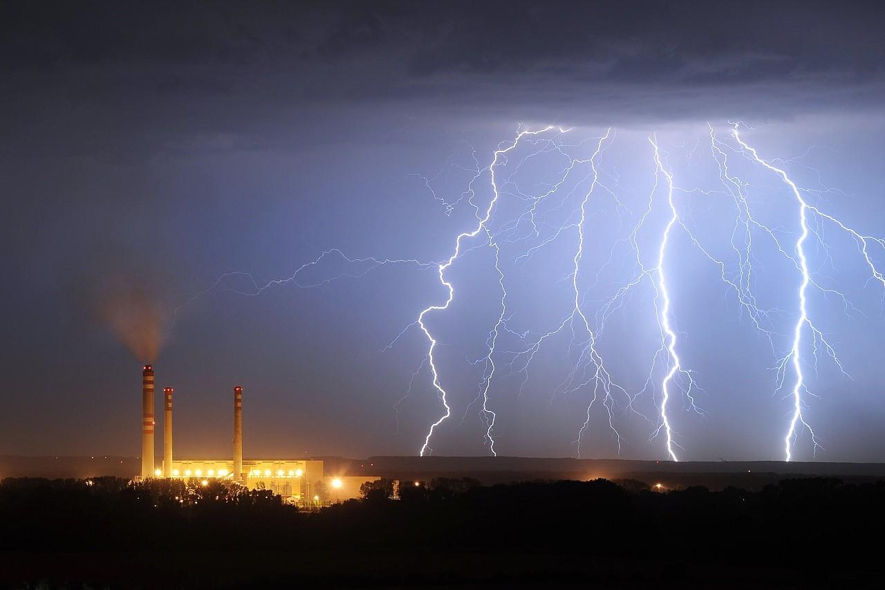 Bouřka u Opatovic nad Labem