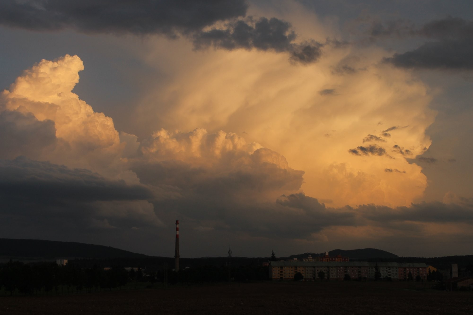 Bouřka na Tachovsku