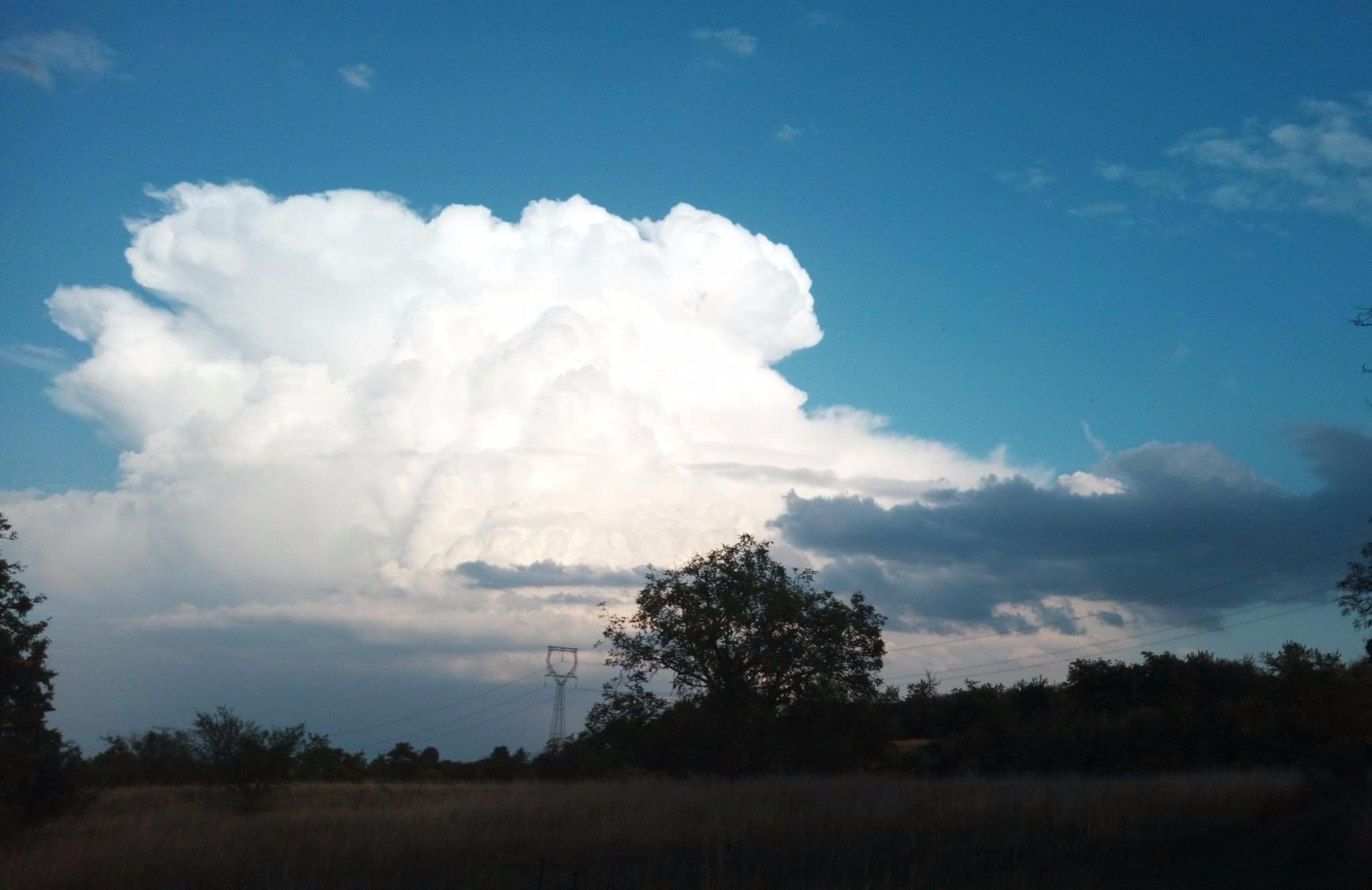 Oblaka z bouřky