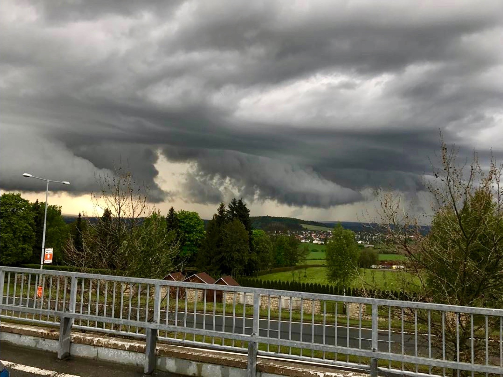 Bouřka nad Plzní