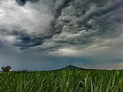 Bouřky nad Českým Středohořím