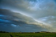 Shelf cloud nad Trutnovskem