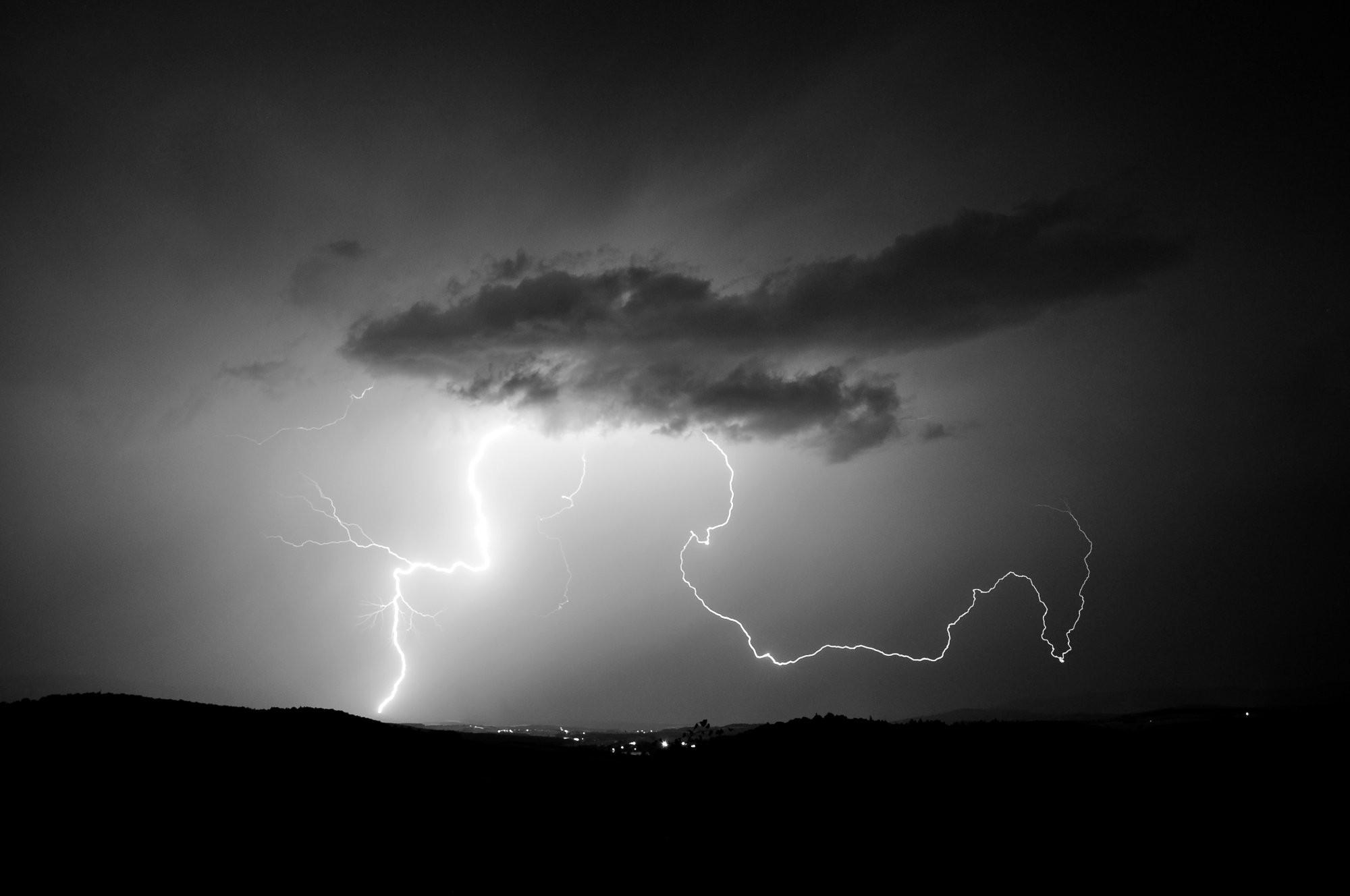 Bouřka nad Všerubama