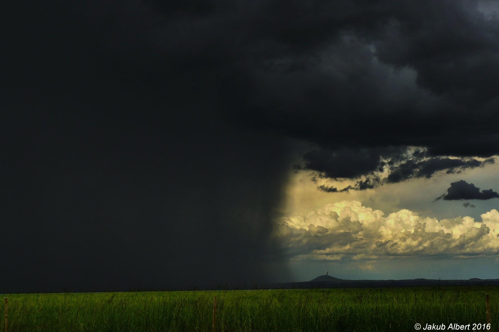 Odcházející bouřka