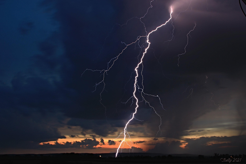 Blesk po bouřce