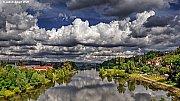 Oblaky nad Prahou