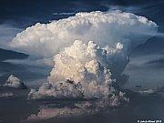 Cumulonimbus nad Prahou