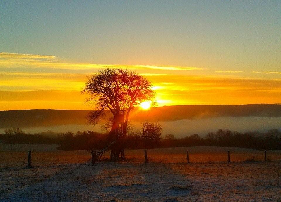 Kouzelné ráno nad Polichnem