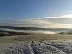 Mlha v údolí Polichna